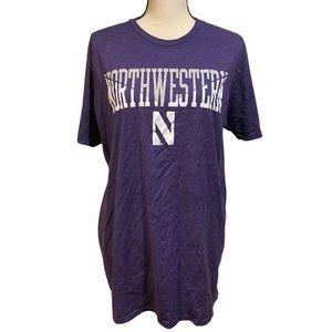 Northwestern Purple College Graphic Tee
